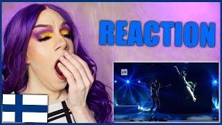 FINLAND - Darude feat. Sebastian Rejman - Look Away | Eurovision 2019 Reaction