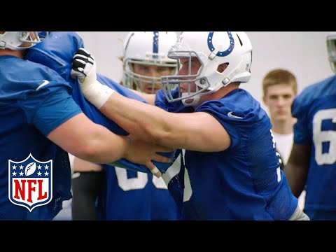 C Ryan Kelly Colts Rookie Camp Highlights | NFL