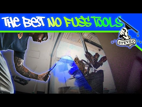 The Best No Fuss Window Cleaning Tools - Steve O