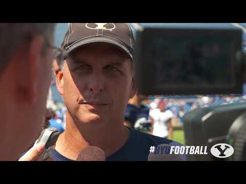 Football - BYU Football Training Camp - August 17, 2017 Ty Detmer
