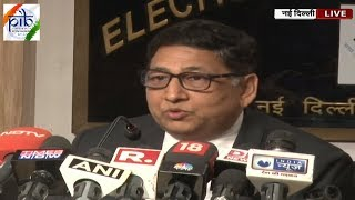 Press Conference by Election Commission of India   Lok Sabha  Elections 2019