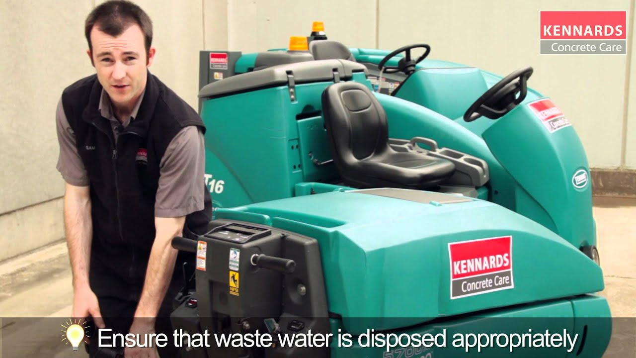 How To Use A Floor Scrubber YouTube - How to use a floor scrubber machine