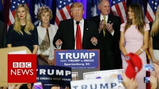 Meet Donald Trump's wife and daughter - BBC News