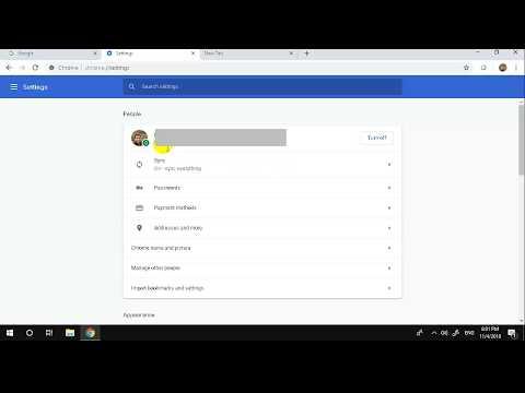 วิธีการทำ sync bookmark Google Chrome