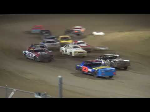 IMCA Hobby Stock feature Independence Motor Speedway 8/4/18