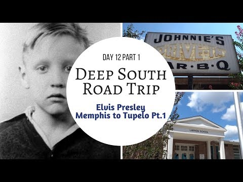Elvis Presley Memphis to Tupelo Road Trip | inc where Elvis twin brother is buried