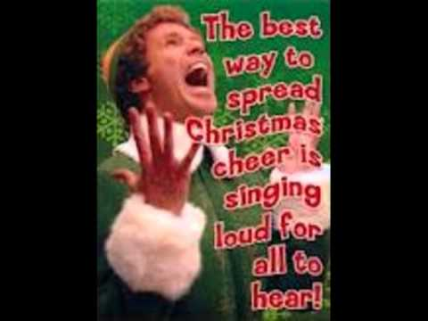 buddy the elf singing