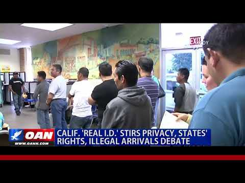 Calif. 'Real I.D.' Stirs Privacy, States' Rights, Illegal Arrivals Debate