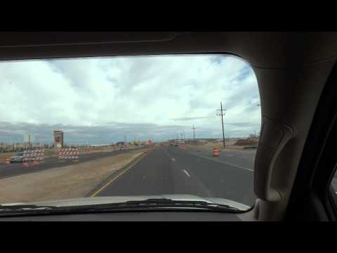 Driving to Texas Tech University Marsha Sharp Freeway US 62/180 Lubbock, TX