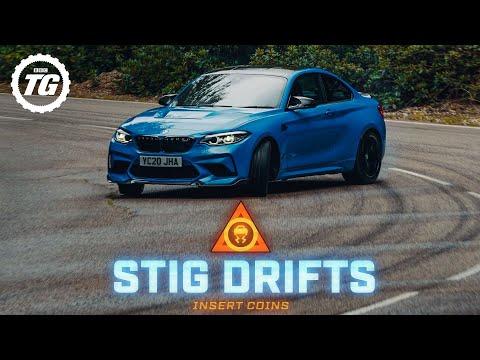 STIG DRIFTS: BMW M2 CS; 444bhp, 406lb ft plus limited-slip diff   Top Gear