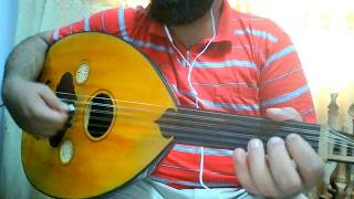 تعلم عزف اغنية يا طيب القلب وينك - عبد المجيد عبد الله على العود للمبتدئين بالتفصيل