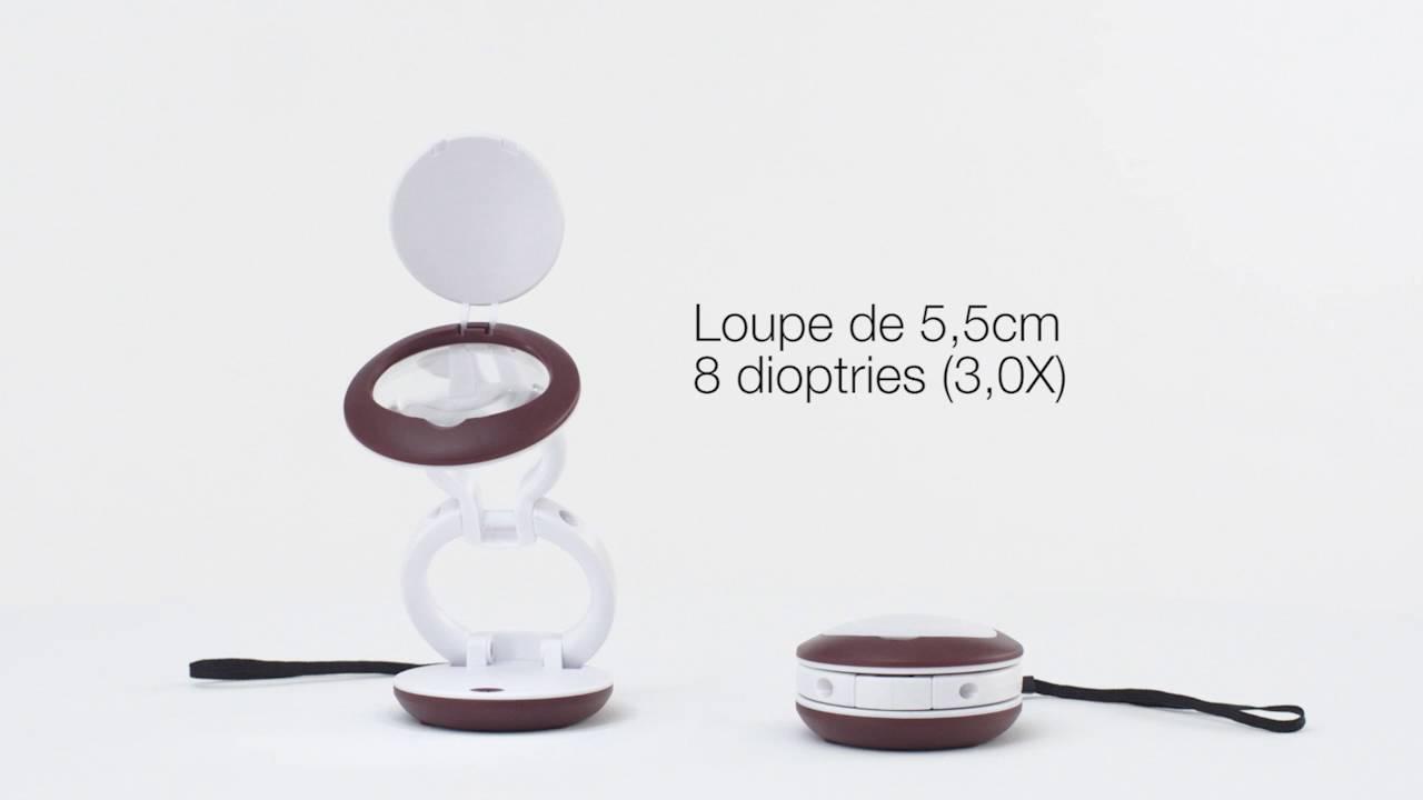 Lampe Loupe Led Yoyo Daylight Pliable Et Compacte Youtube