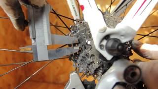 Как заменить велосипедную цепь. Проверка износа звезд.(Замена велосипедной цепи, проверка износа звезд., 2015-03-23T19:36:17.000Z)