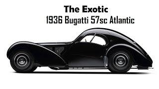 [EXOTIC]... 1936 Bugatti Type 57SC Atlantic