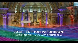 vibrate!festival 2018 | CHAUSSON Concerto op. 21