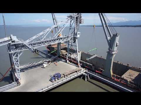 Port MacKenzie Takes On 16 Miles of Cement Pipe