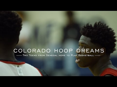 How two 7-footers from Senegal are chasing hoop dreams in Colorado