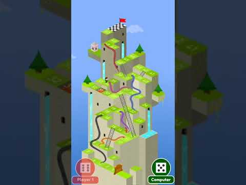 🐍 Snakes And Ladders Saga - Free Board Games 🎲 (player V/s Computer)