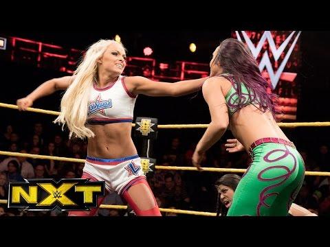 Ember Moon vs. Liv Morgan vs. Peyton Royce - No. 1 Contender's Match: WWE NXT, Feb. 22, 2017