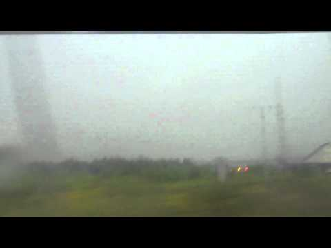 LIghtning Strike Caught on Tape