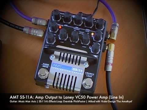 AMT Electronics SS-11A Preamp: Line Output to Laney VC50 Power Amp