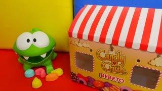 Игры головоломки и видео для детей с игрушкой АМ НЯМ: учим цифры и цвета