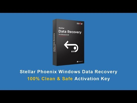 Stellar Phoenix Windows Data Recovery Activation Key 100% Clean, Safer Than Crack | 2019 from YouTube · Duration:  1 minutes 34 seconds