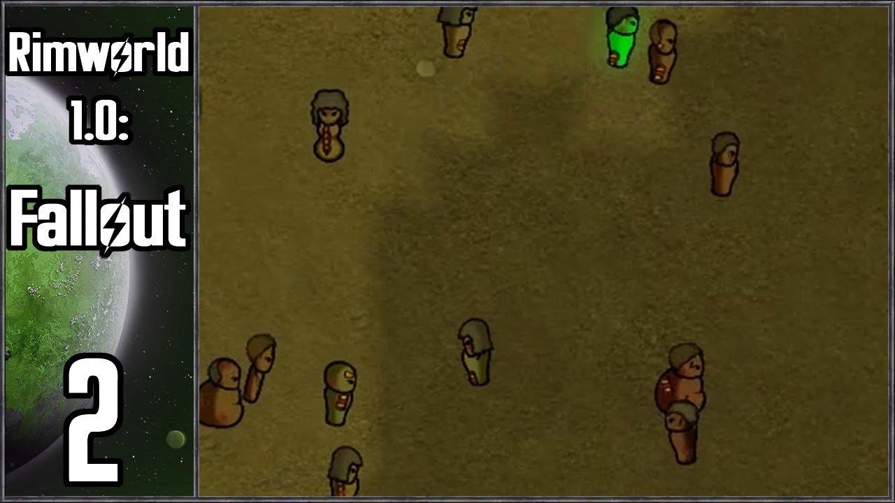 Rimworld 1 0: Fallout #2 - Zombie Attack