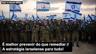É melhor prevenir do que remediar – A estratégia israelense para tudo!