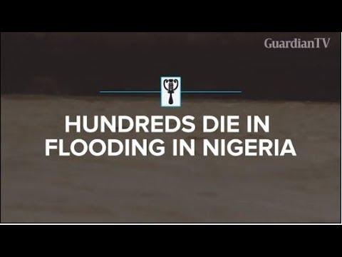 Hundreds die in flooding in Nigeria