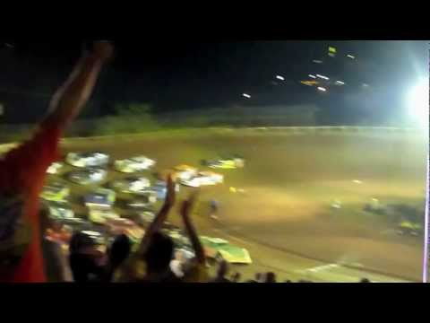 I-77 Raceway Park - Ripley, West Virginia - World of Outlaws racing action