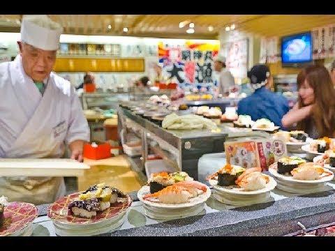 Что едят Японцы каждый день❓ЦЕНЫ на Еду⚠️в Японии Суши и роллы в Японии, Японский ресторан в Японии