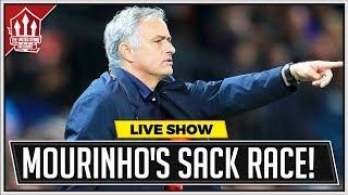 Mourinho Sacked Next Week? Man Utd News Now