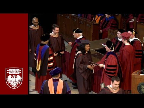 The 518th Convocation, University Ceremony - The University of Chicago