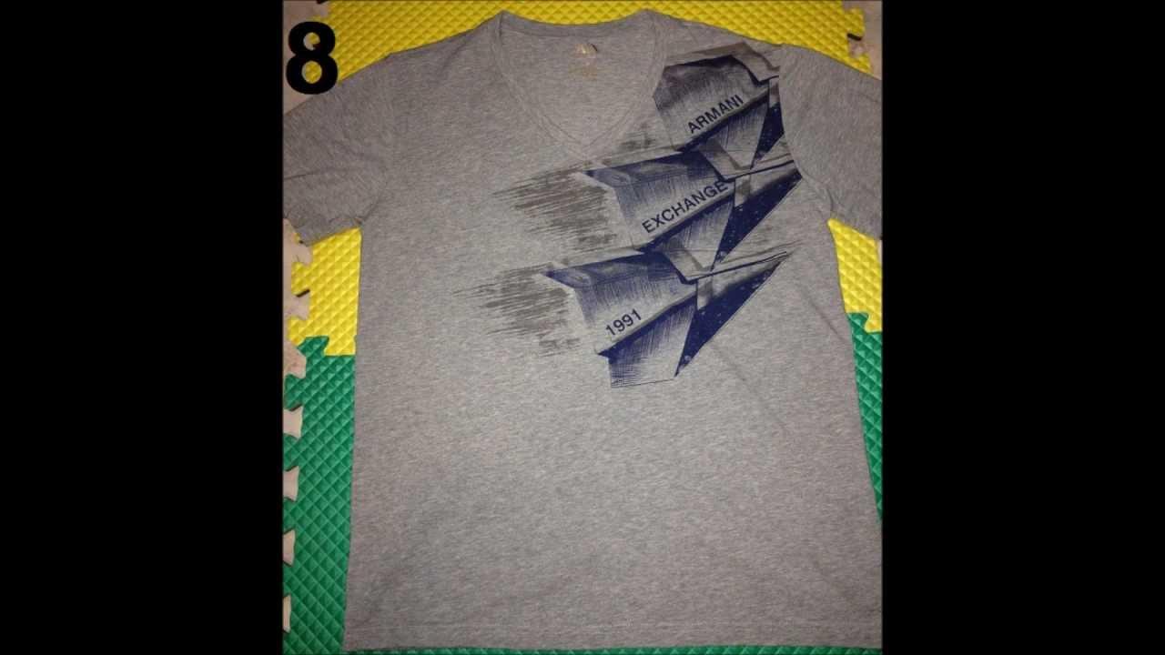 Camisas Armani Piratas