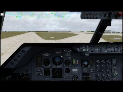 FSX JUST FLIGH TRISTAR L1011 CIVA VOR flight KLAS KLAX