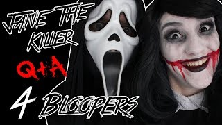 Jane the Killer Q&A! Episode #4 Bloopers! (ft. D0ddy321)