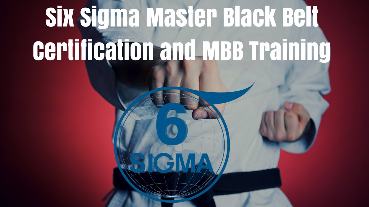 Six sigma master black belt certification and mbb training youtube six sigma master black belt certification and mbb training xflitez Choice Image