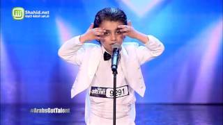 Arabs Got Talent - مرحلة تجارب الاداء - سوريا- يمان علاء جركس