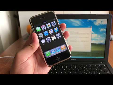 How to Downgrade An iPhone 2G to iPhone OS 1.0