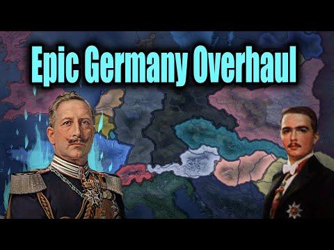 Epic Germany Overhaul | Großdeutscher Bund (HOI4)