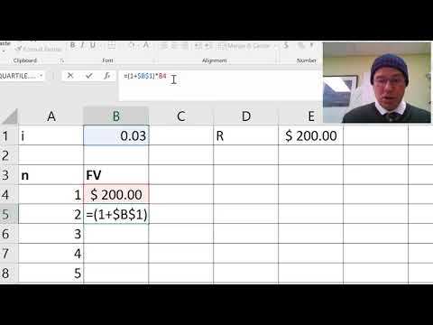How to use Excel to calculate Future Value Annuity