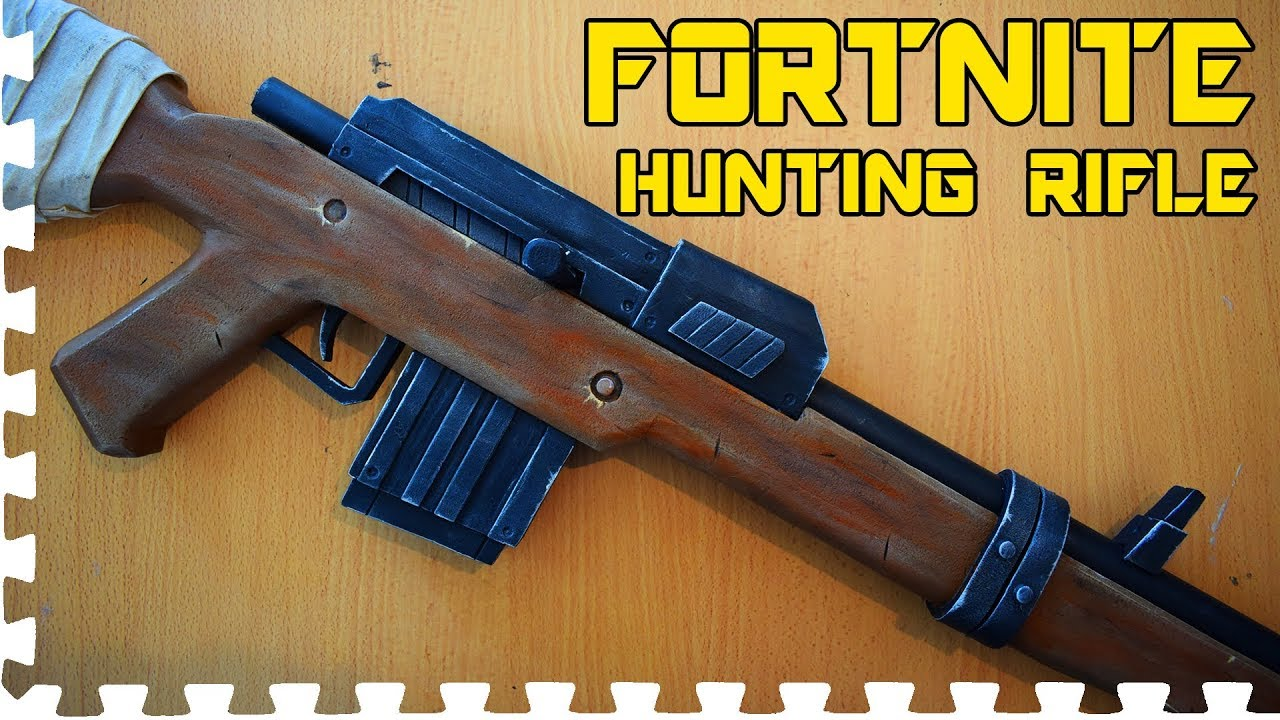 Fortnite Hunting Rifle Cosplay Prop Youtube