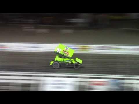 Nodak Speedway Sprint Car A-Main (Motor Magic Night #1) (9/2/17)