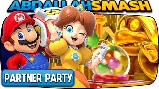Super Mario Party: Partner Party - Tantalizing Tower Toys! (2-Player Co-Op)