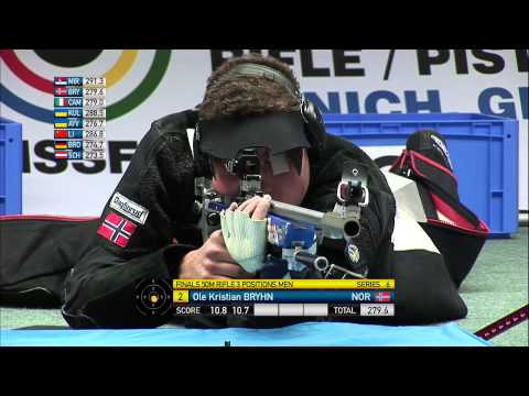 Men's 50m Rifle 3 Positions final round - Munich 2013 ISSF World Cup Final