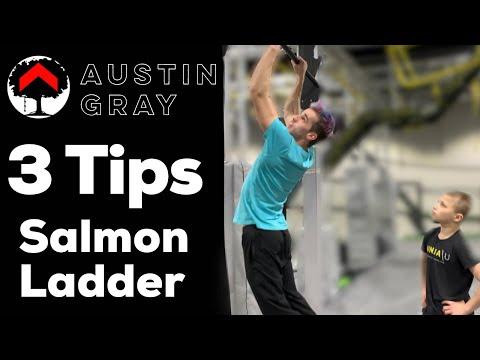 3 Salmon Ladder Tips With Austin Gray - American Ninja Warrior Vegas Finalist