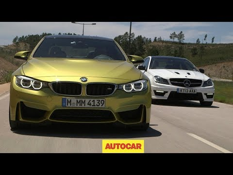 Performance coupes go head-to-head: BMW M4 vs. Mercedes-Benz C63 AMG