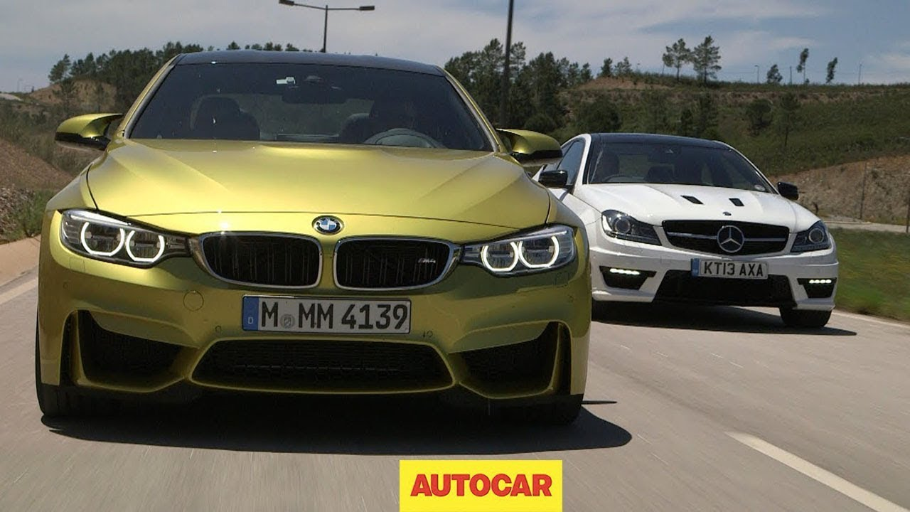 Performance Coupes Go Head To Head: BMW M4 Vs. Mercedes Benz C63 AMG