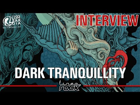 DARK TRANQUILLITY - Mikael Stanne - interview @Linea Rock 2016 by Barbara Caserta